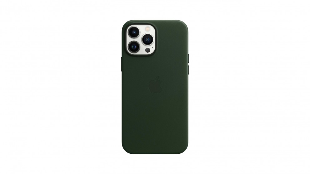 Apple iPhone 13 Pro Max Leather Case with MagSafe - Sequioa Green