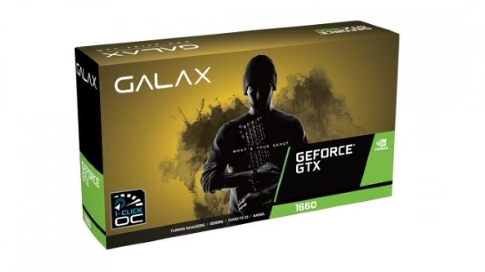 Galax GTX 1660 1-Click OC