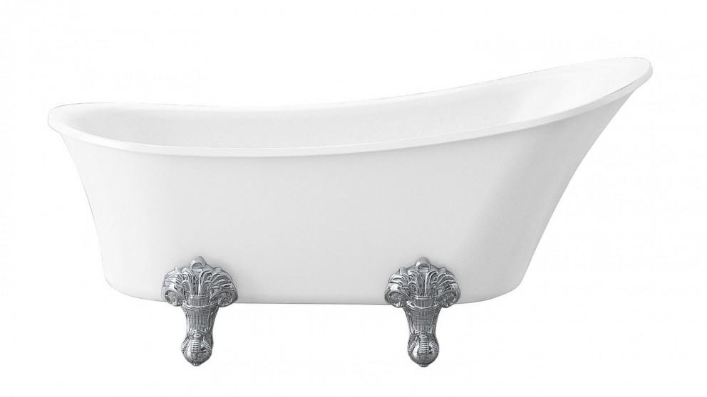 Studio 1 Burlington 1700mm Claw Foot Freestanding Bath with Chrome Legs
