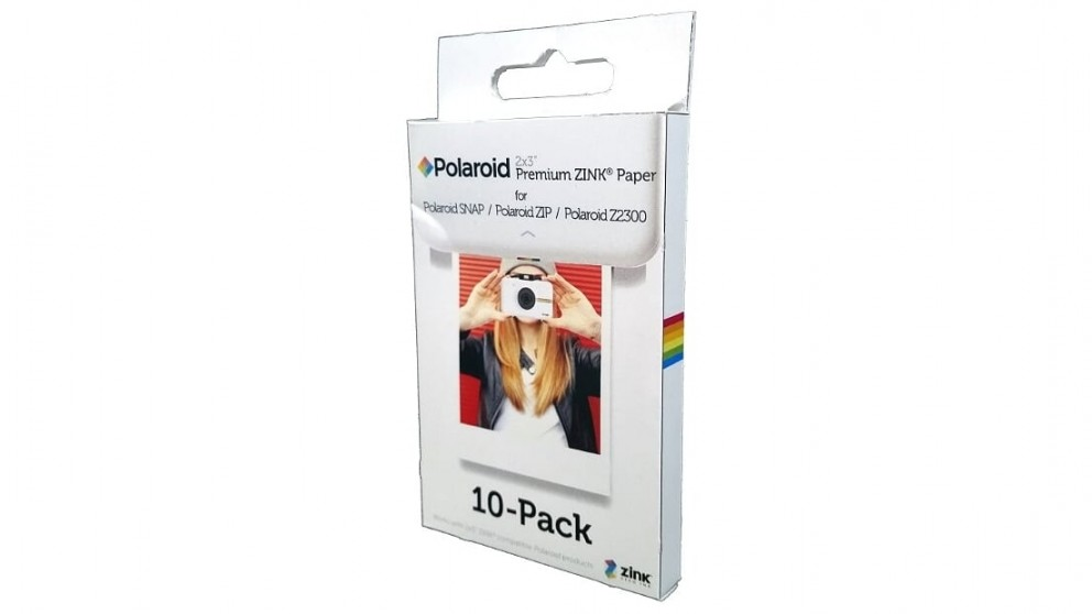 Polaroid Zink 2x3-inch Media - 10 Pack