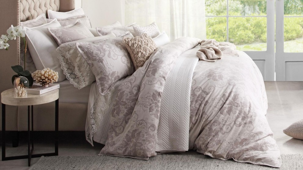 Ines Linen King Quilt Cover Set