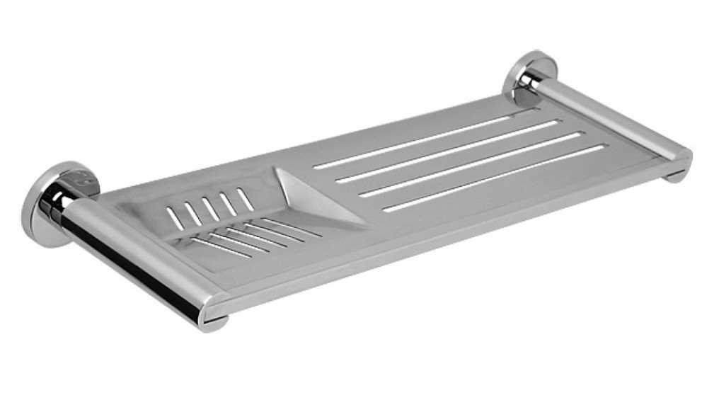 Arcisan Axus Stainless Steel Shelf with Soap Dish - Chrome