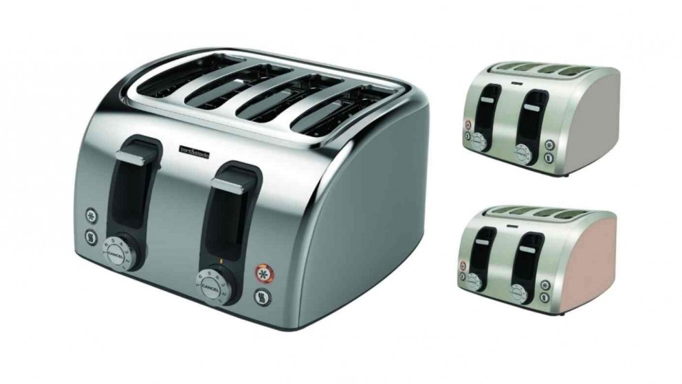 Trent and Steele 4 Slice Toaster