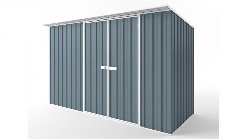 EasyShed D3815 Skillion Roof Garden Shed - Blue Horizon