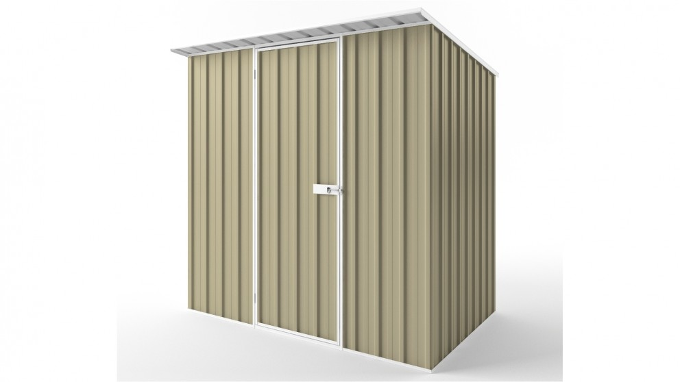 EasyShed S2315 Skillion Roof Garden Shed - Wheat