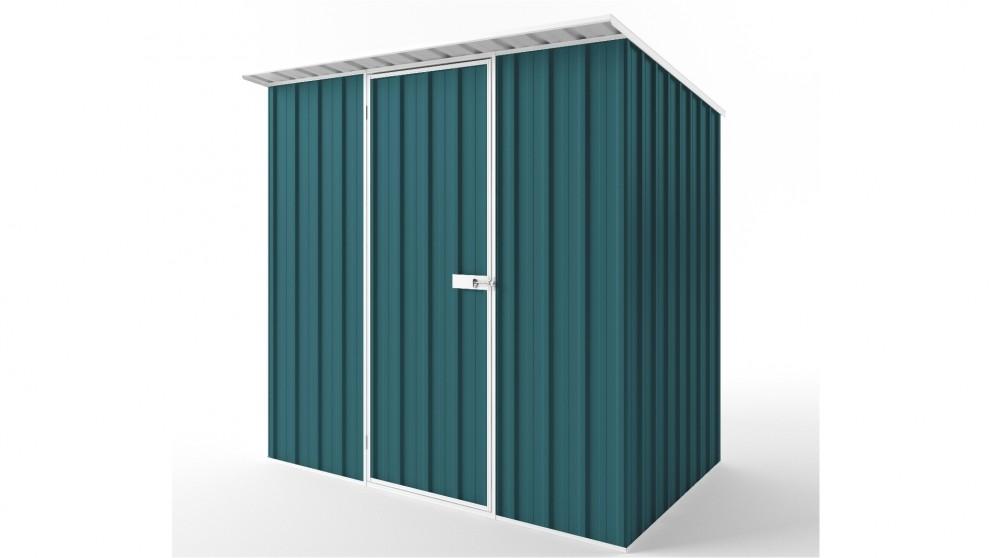 EasyShed S2315 Skillion Roof Garden Shed - Torres Blue