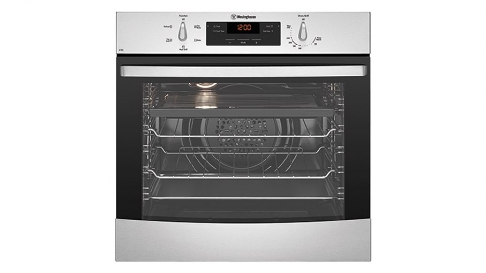 Westinghouse 600mm Multifunction LPG Single Oven - Stainless Steel