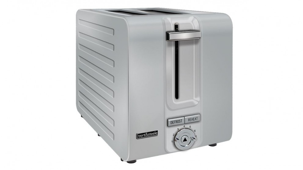 Trent and Steel TS2379 2 Slice Toaster - Stainless Steel