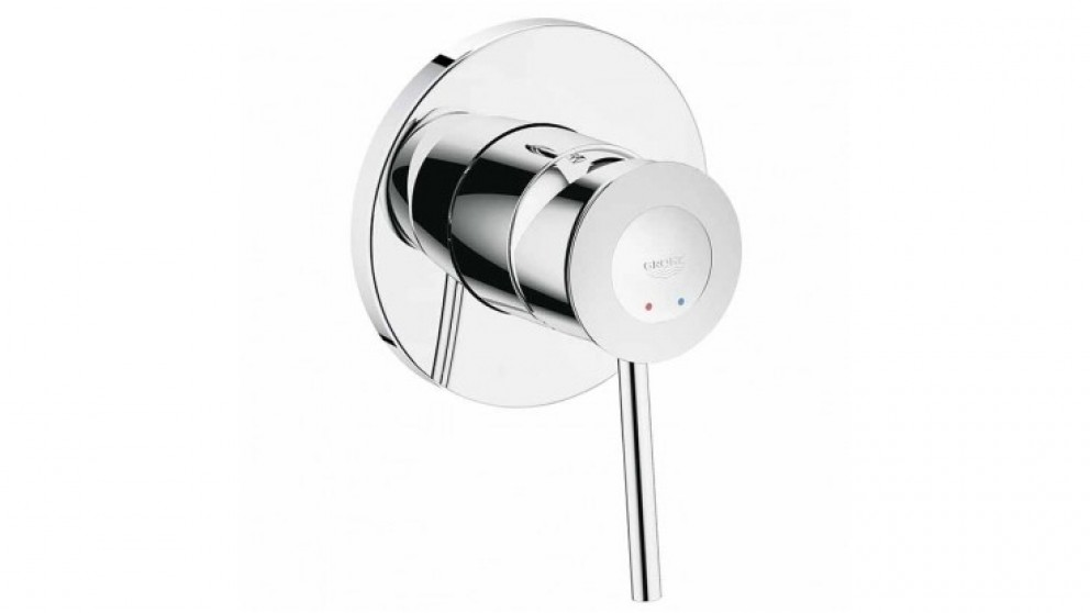 Buy Grohe Bauclassic Round Shower Mixer | Harvey Norman AU