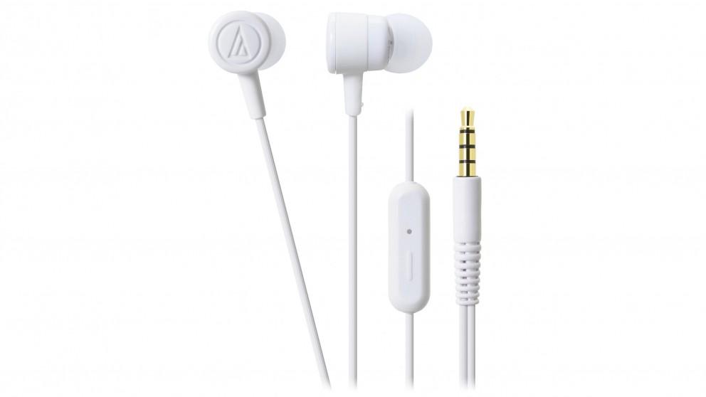 Audio Technica CKL220iS In Ear Headphones - White