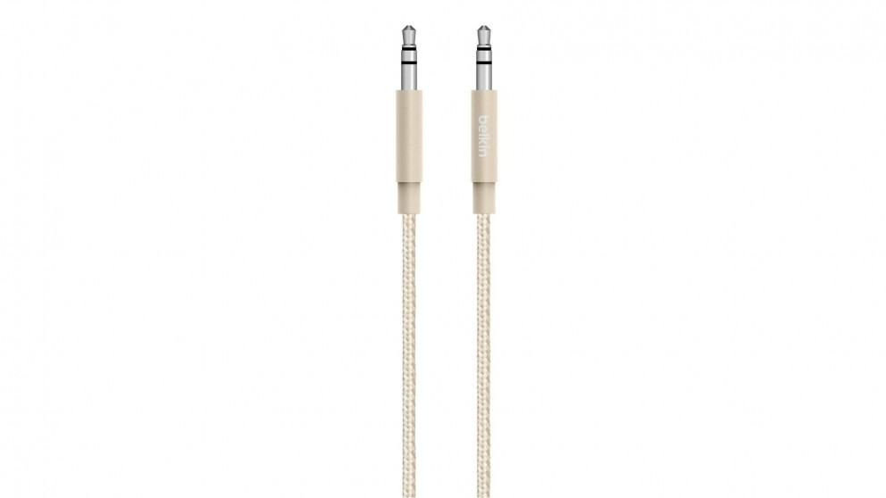 Belkin MIXIT 3.5mm Audio Cable - Gold