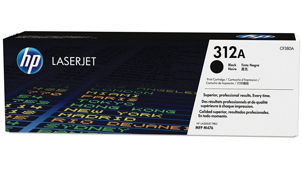 HP 312A Laser Jet Toner Catridge - Black