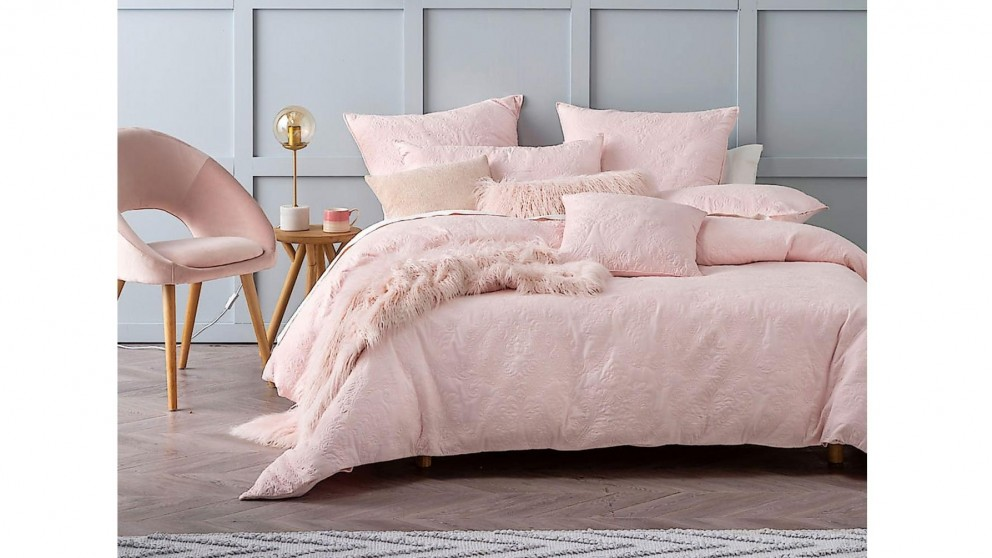 Buy Cavello Pink Quilt Cover Set Super King Harvey