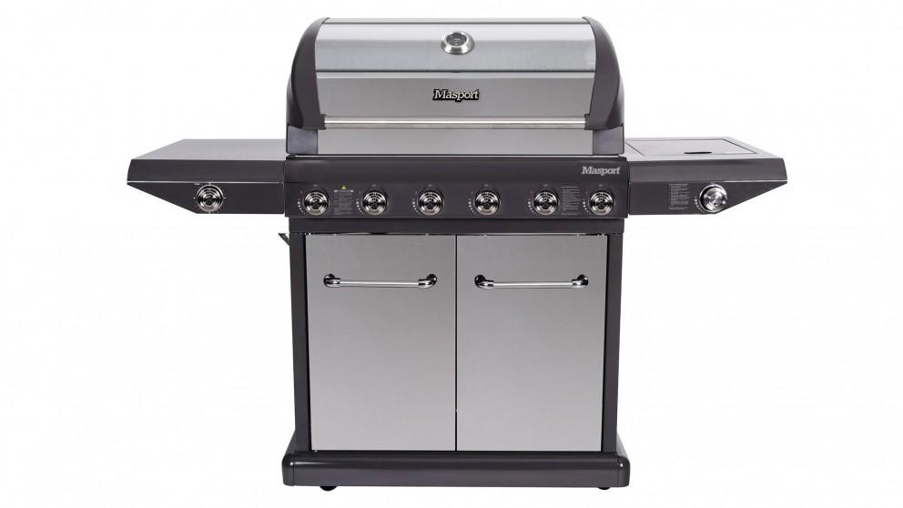 Masport Mighty 6-Burner BBQ - Grey