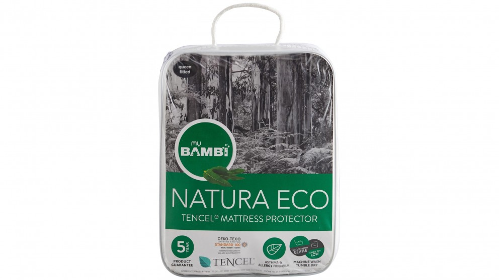 Bambi Naturaeco Tencel King Single Fitted Mattress Protector