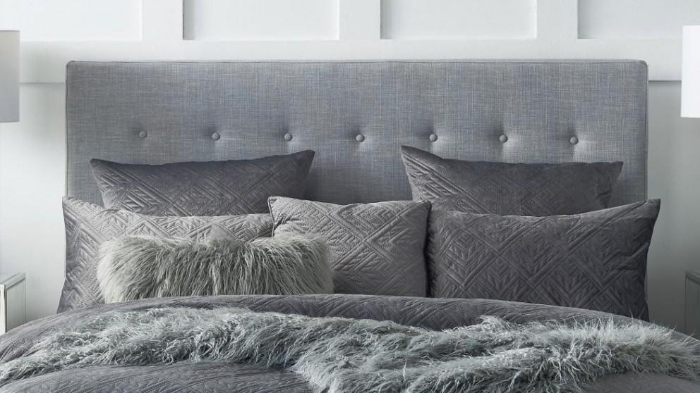 Quinn Charcoal European Pillowcase