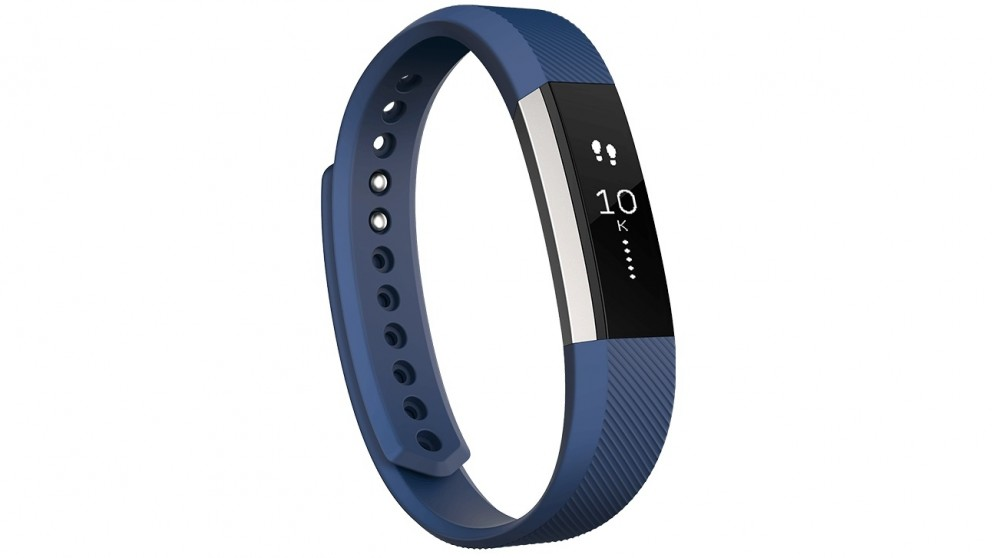 Harvey Norman Fitbit Alta Large Fitness Tracker - Blue - Compare Club