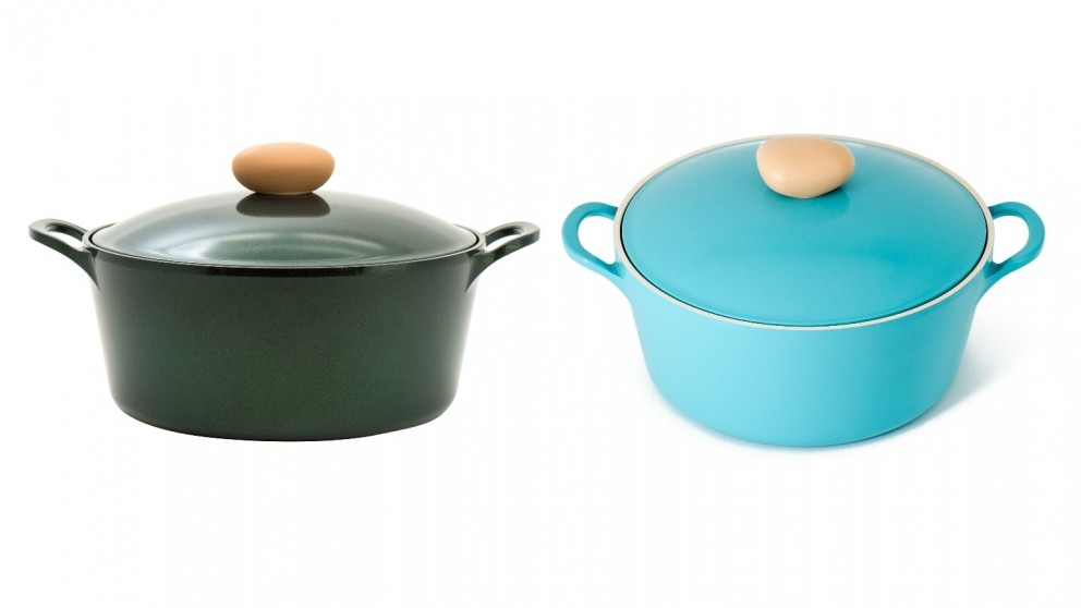 Neoflam Retro 26cm Casserole Induction 5.5L with Die-Casted Lid