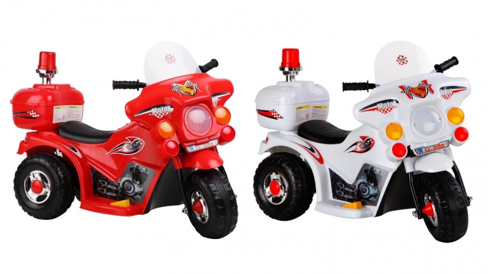 Rigo Kids Ride On Police Motorbike