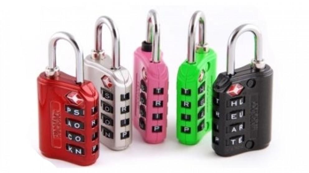 Korjo TSA Compliant Word Lock