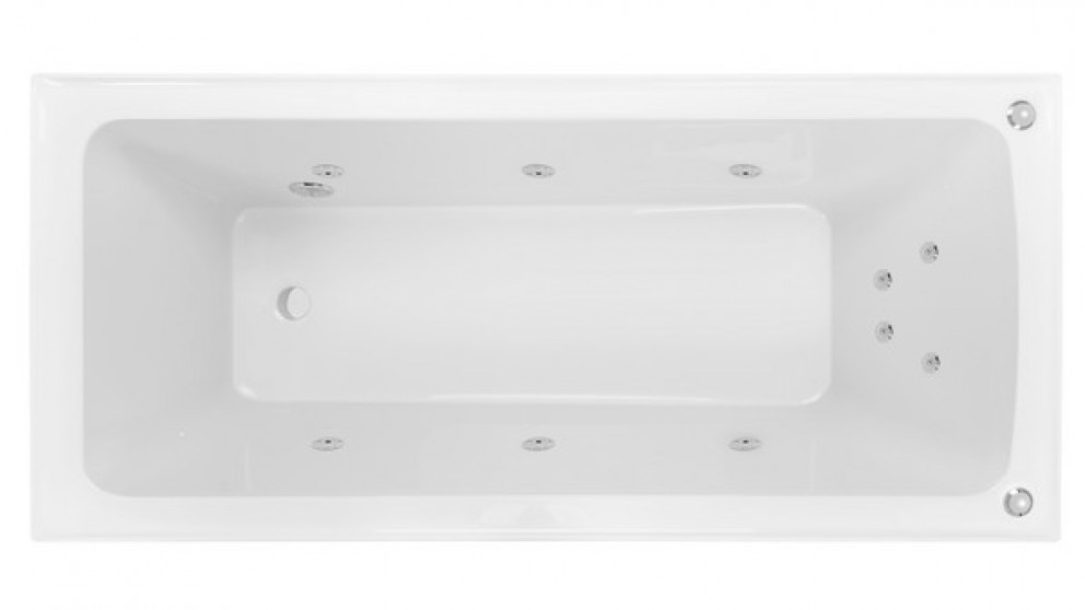 Buy Decina Shenseki 1515mm Santai 10 Jet Spa Bath | Harvey Norman AU