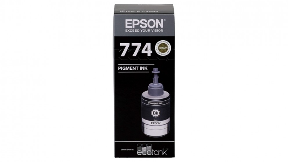 Epson EcoTank T774 Ink Refill Bottle - Black