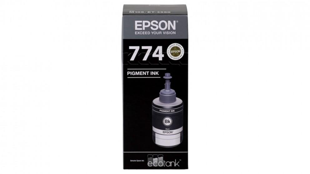 Epson EcoTank T774 Ink Refill Bottle - Black