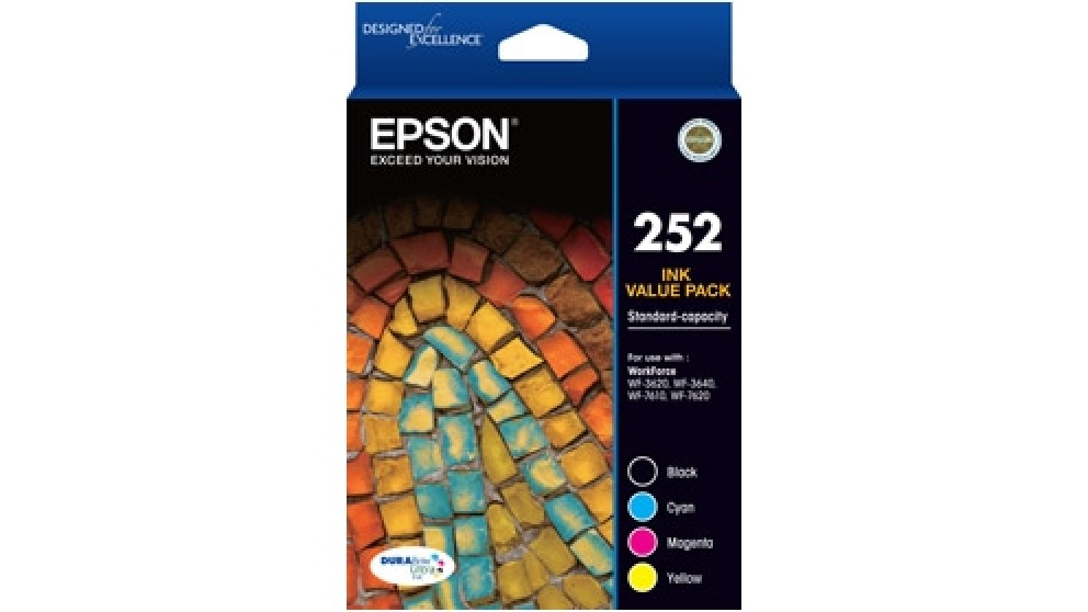 Epson 252 Value Pack Ink Catridge
