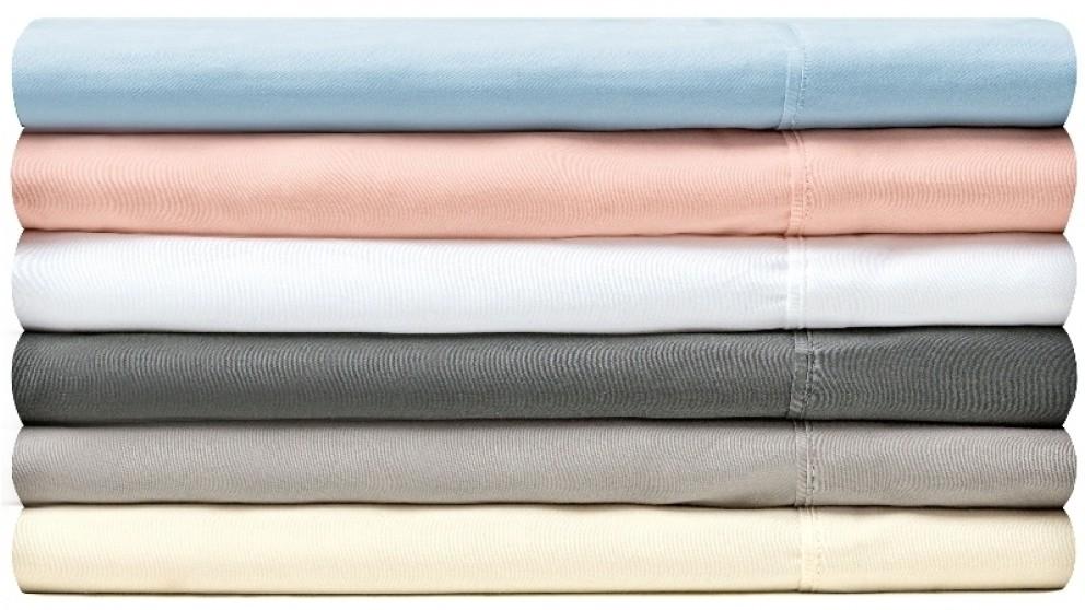 L'Avenue 300TC Single Sheet Set - Charcoal