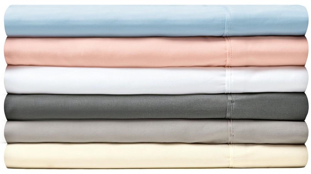 L'Avenue 300TC Double Sheet Set - Blush