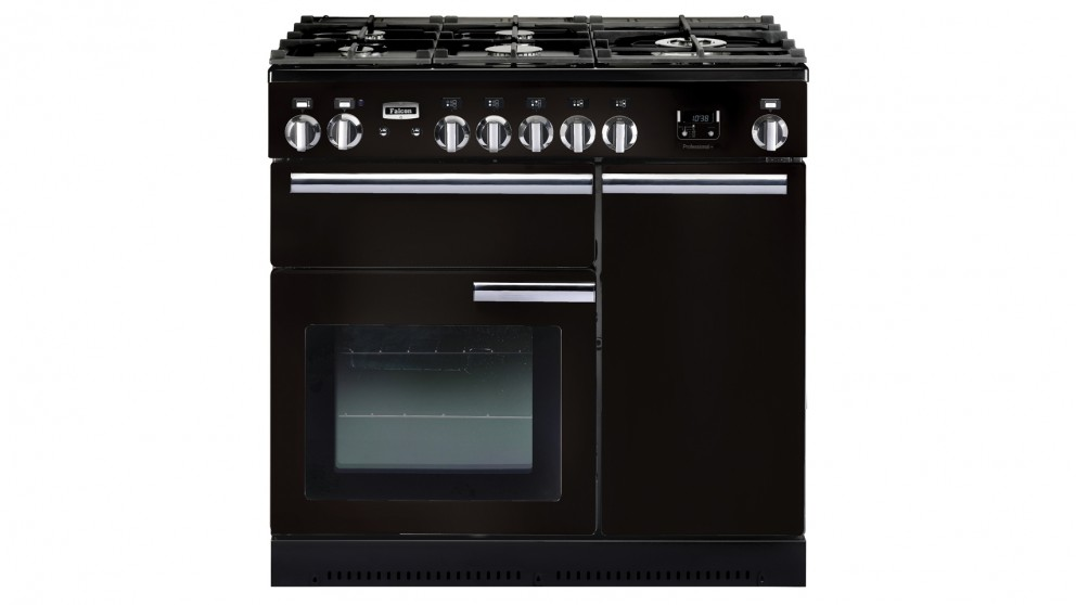 Falcon Professional+ 900mm Dual Fuel Freestanding Cooker - Black