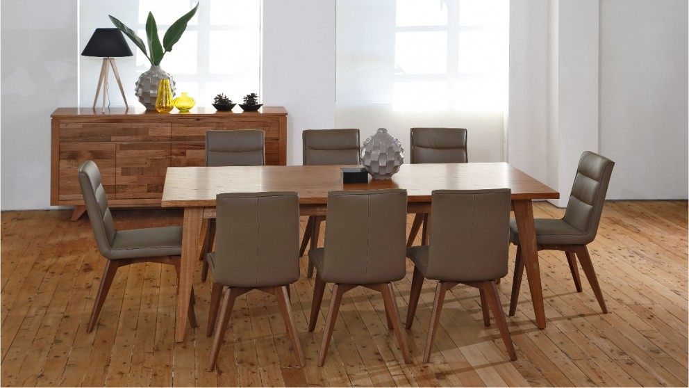 jacob 9 piece dining setting - dining furniture - dining room