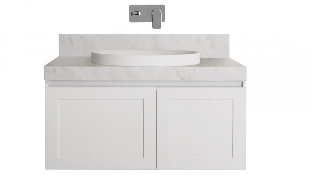 ADP Hampton 900mm Wall Hung Vanity - Cherry Pie
