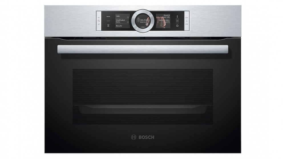 buy bosch 600mm 8 series combination steam oven stainless steel harvey norman au. Black Bedroom Furniture Sets. Home Design Ideas