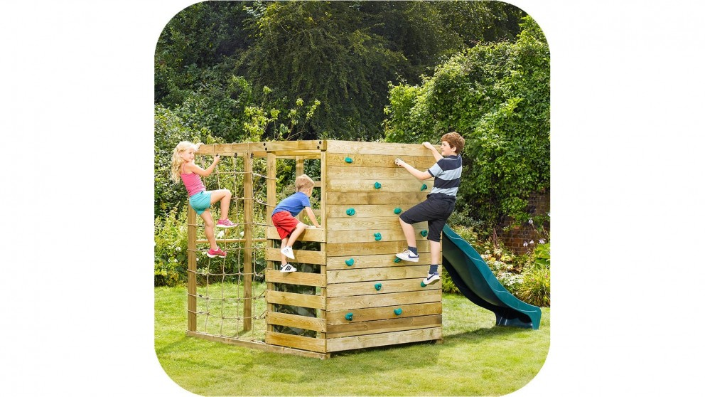 Plum Climbing Cube Wooden Play Centre