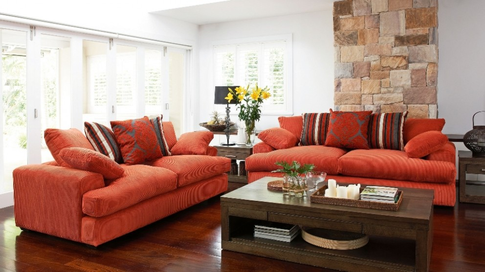 Newport 3 Seater Fabric Sofa. Lounges Suites   Sofas   Leather  Chaise   Modular   Harvey Norman