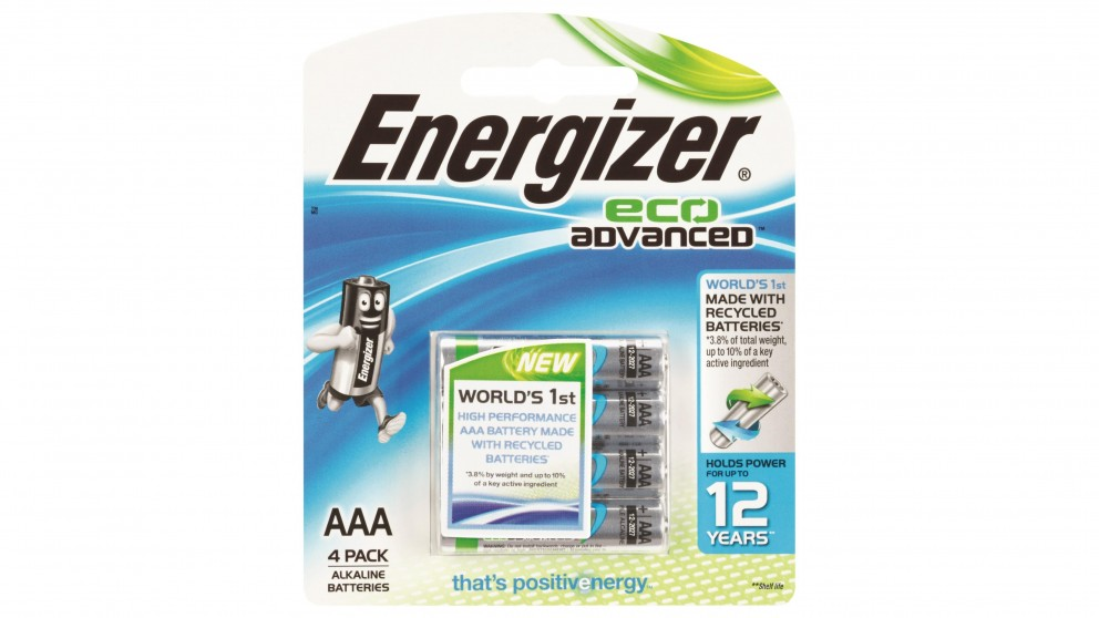 Energizer Eco Advanced Technology AA - 4 Pack