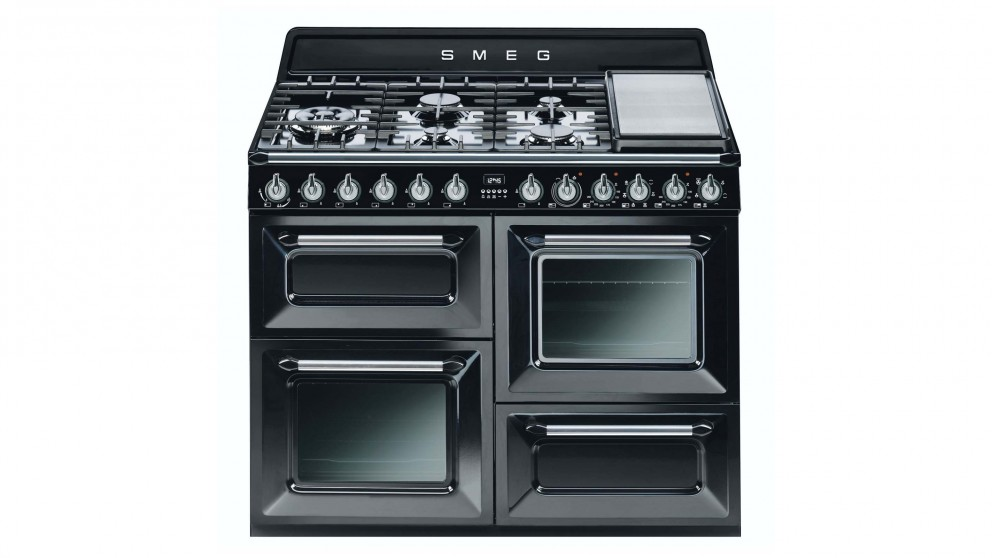Smeg 1100mm Freestanding Cooker - Black