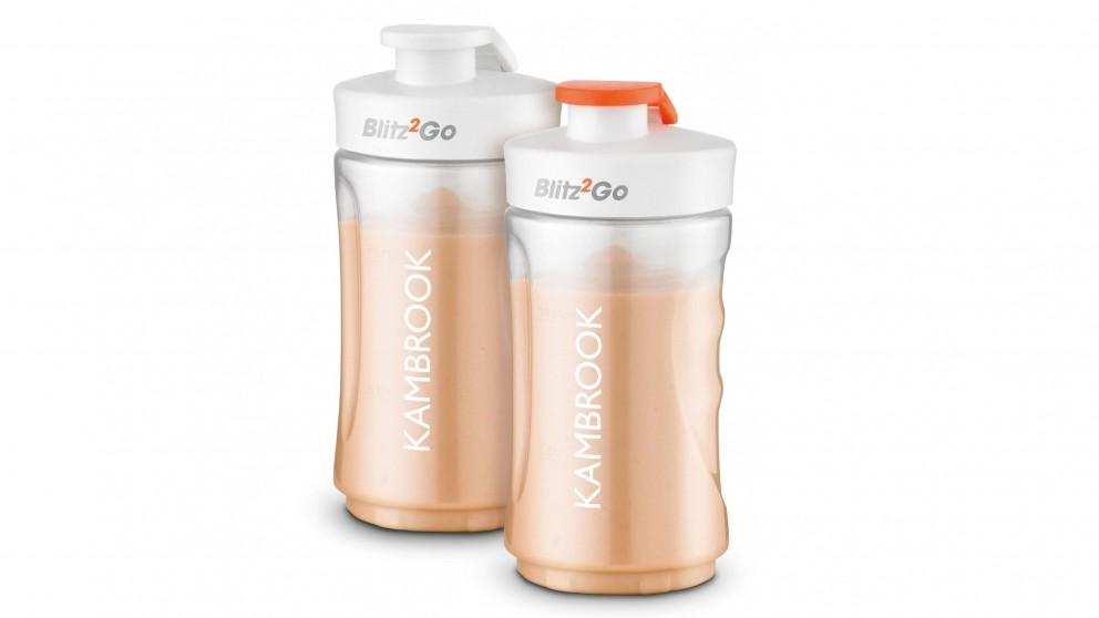 Kambrook 300ml Blitz2Go 2 Pack Bottles