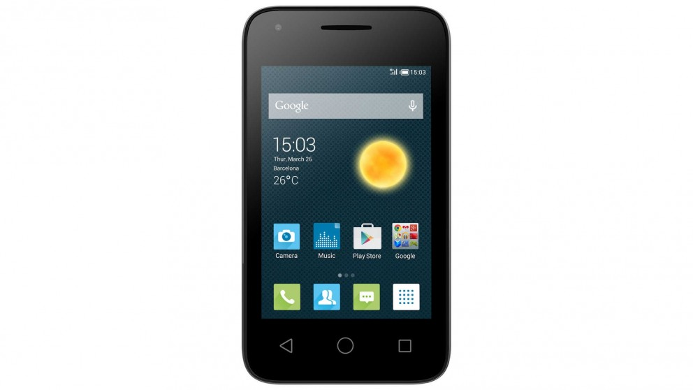 Optus Alcatel Pixi 3.5 Pre-Paid Smartphone