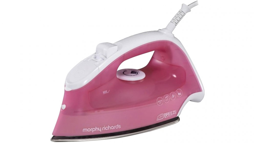 Morphy Richard Breeze Steam Iron with Stainless Steel Soleplate