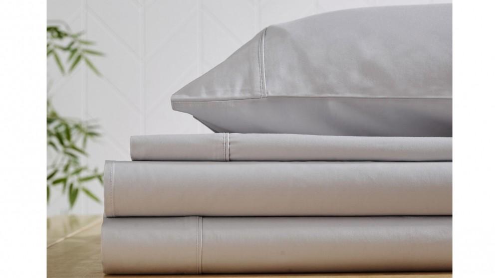 L'Avenue 500TC Bamboo/Cotton Silver Sheet Set