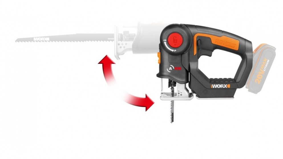 Worx WX550.9 20V Multi-Purpose Saw Tool Only