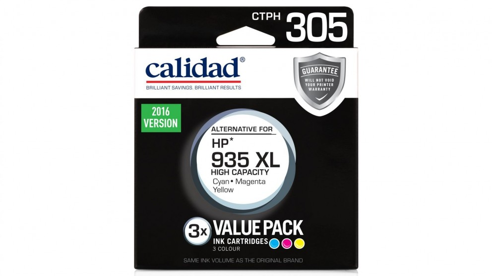 Calidad HP 935XL 3-Pack Ink Cartridge