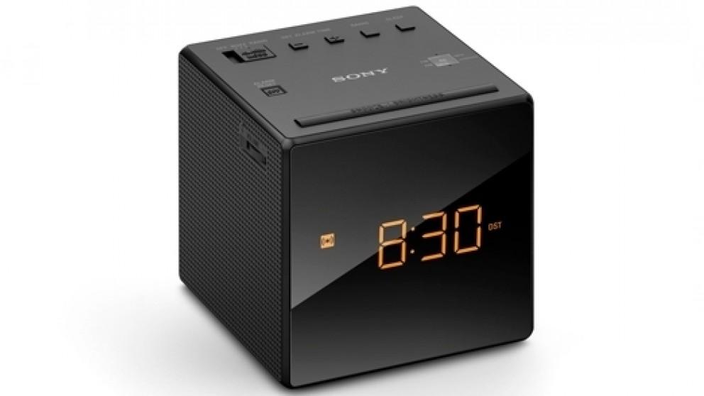 Buy Sony ICF C1 FMAM Clock Radio Black Harvey Norman AU