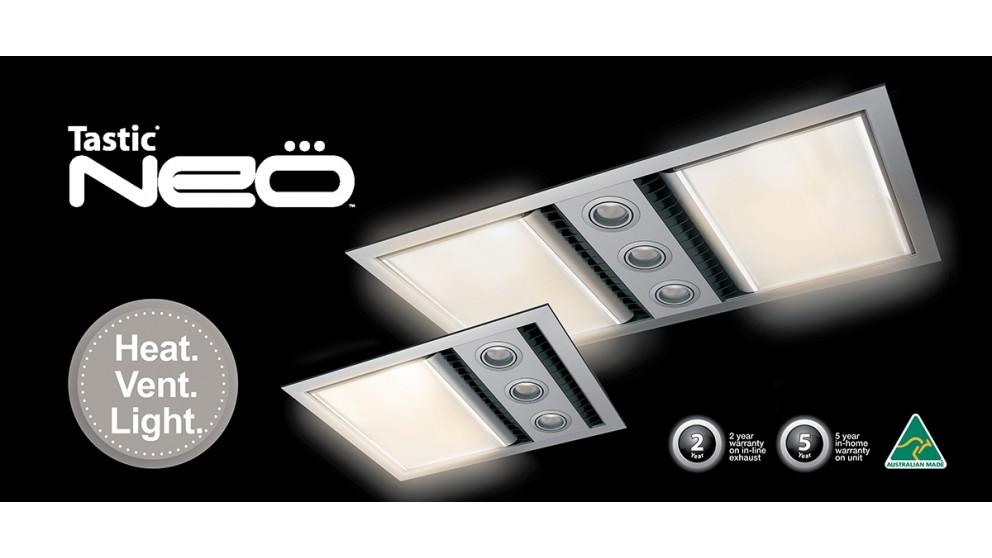 Buy ixl neo tastic single bathroom heat fan light white ixl neo tastic single bathroom heat fan light white mozeypictures Gallery