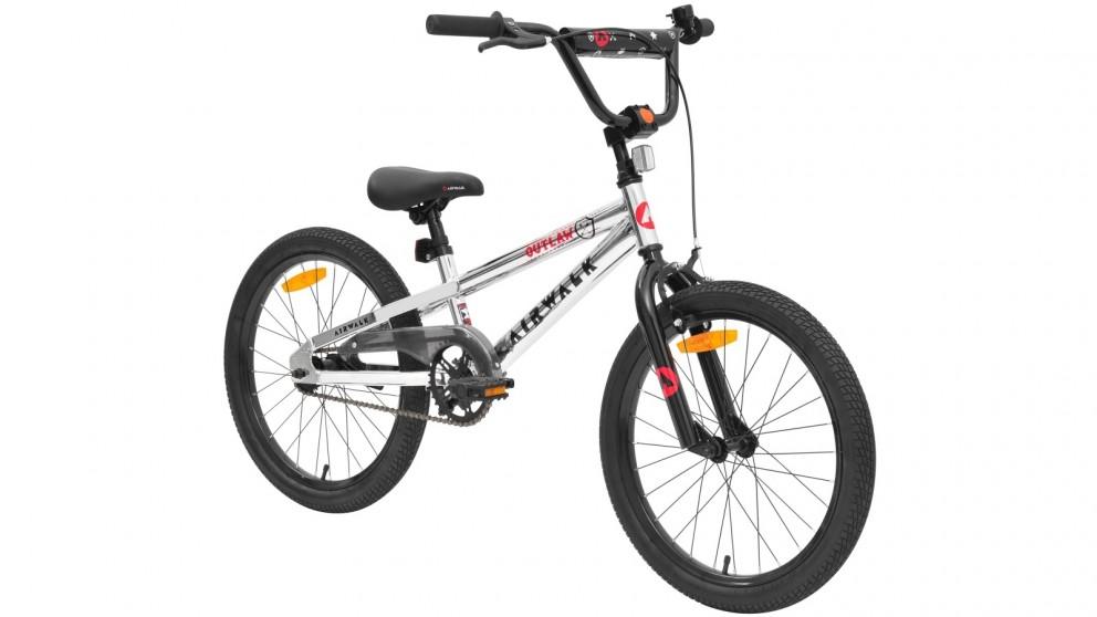 Airwalk 50cm Outlaw Boys Electro Plated Kids Bike
