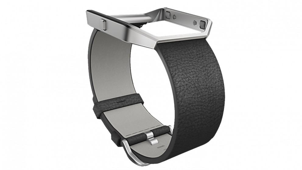 Fitbit Blaze Small Leather Band - Black