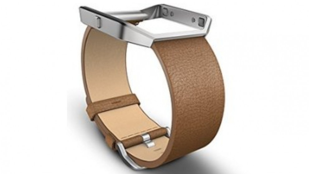 Fitbit Blaze Small Leather Band - Camel