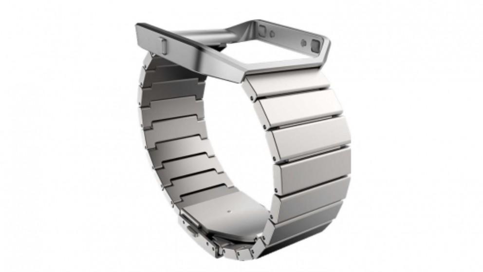 Fitbit Blaze Metal Links Band - Silver